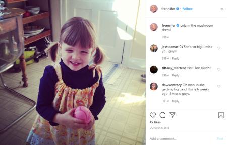 Jennifer Robertson's daughter, Lola