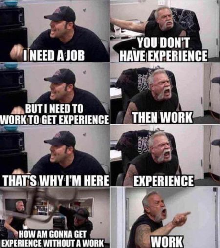 One of many memes inspired by Paul Sr. and Paul Jr.'s disagreements on American Chopper