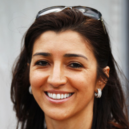 Fabiana is the Vice-President of the Grand Prix of Brazil