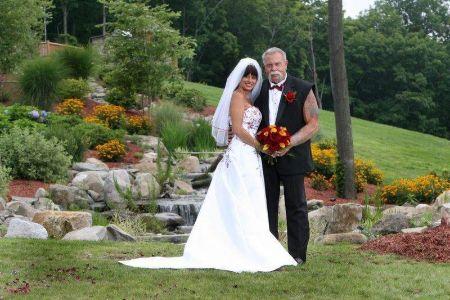 A snap from Beth Ann Santos' marriage ceremony to Paul Teutul Sr.