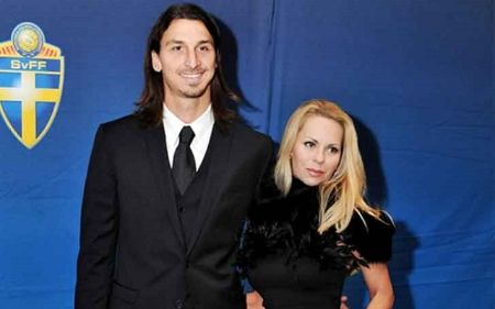 Helena Seger keeps her husband, Zlatan Ibrahimović, humble
