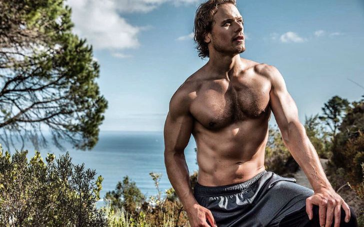 Outlander star Sam Heughan