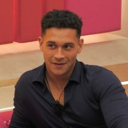 Jones became famous after his appearance on Love Island