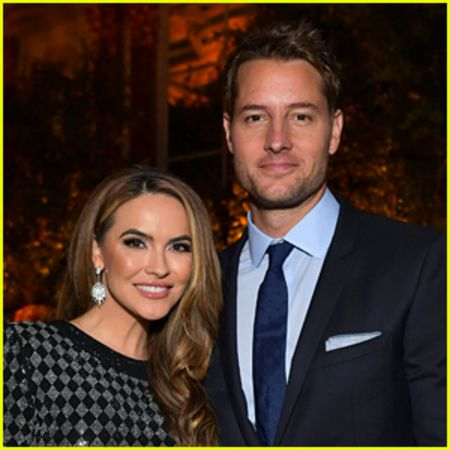Justin's former wife, Chrishell Stause