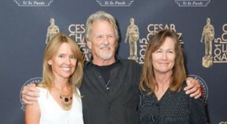 Tracy Kristofferson with her family