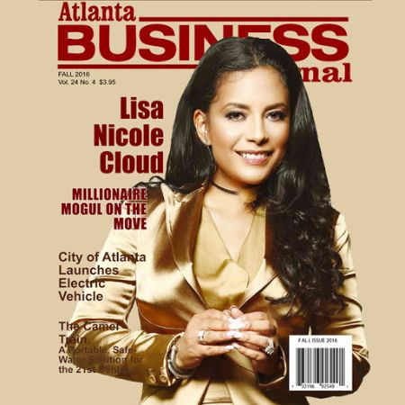 Lisa Nicole Cloud on the cover of Atlanta Business Journal