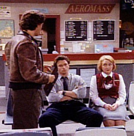 Rebecca played Fay Cochran in Wings from 1990 to 1997  Image Surce: IMDB