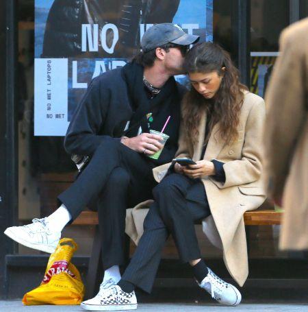 Jacob started dating Euphoria co-star Zendaya as of 2020  Image Source: Elle