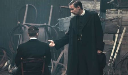 Paddy Considine as Father John Hughes in Peaky Blinders  Image Source: Express UK