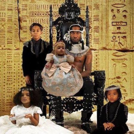 Jordan Cephus and his family.