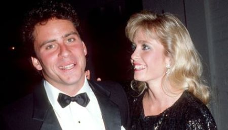 Ethan Wayne and his ex-wife, Gina Rivadenegry