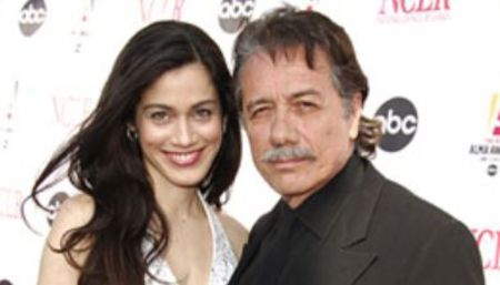 Lymari Nadal and Edward James Olmos