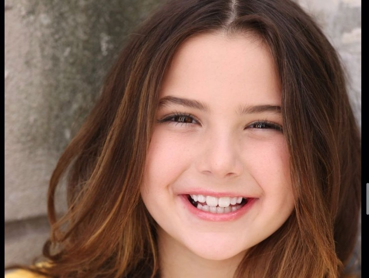 Lexi Rabe with her cute smile