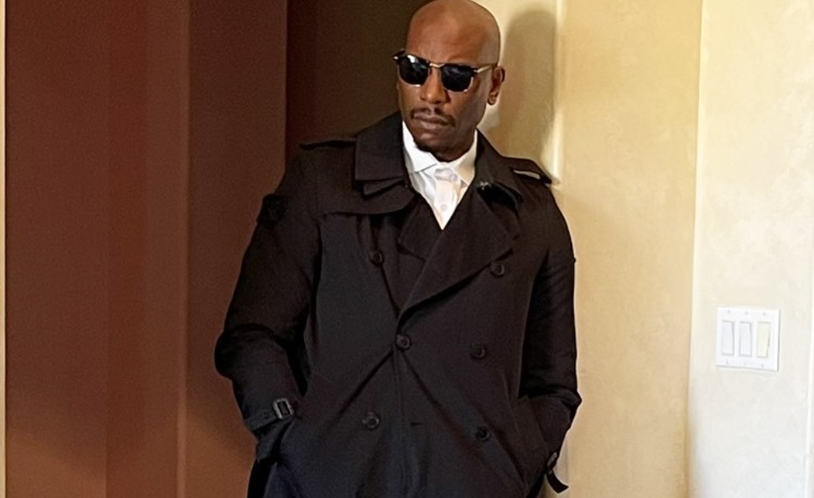 Tyrese Gibson in his photo shoot