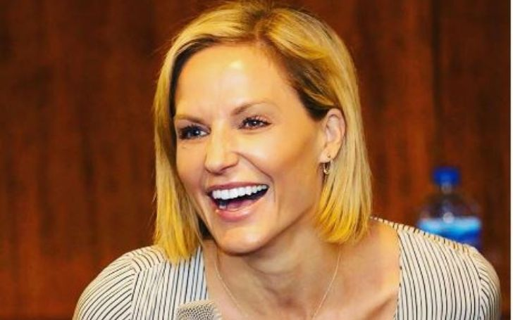 Rebecca Haarlow, an American sideline reporter for MSG Network & NBA on TNT