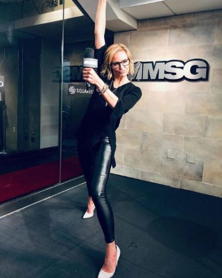 Reporter Rebecca Haarlow joined MSG Network in 2015 & works there ever since